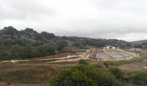 Las salinas de Iptuci se encuentran en el Parque Natural de los Alcornocales.