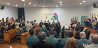 La Medalla de la Comarca de la Mancomunidad Campo de Gibraltar ha sido para el guardia civil fallecido Fermín Cabezas