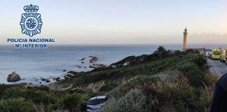 Rescate de una mujer desaparecida en un acantilado en Algeciras