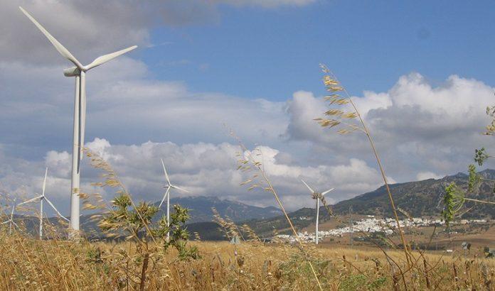 Eólica, energía que más electricidad verde generó en Andalucía en 2018