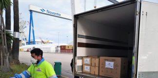 Navantia entrega más de medio millar de pantallas de protección al SAS