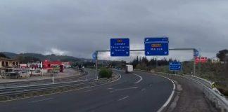 Cádiz, la provincia andaluza donde más cae el tráfico, un 72,5 %