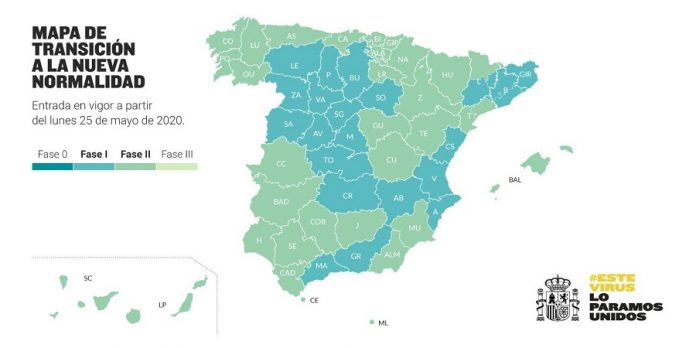 Cádiz pasa a la Fase 2 de la desescalada