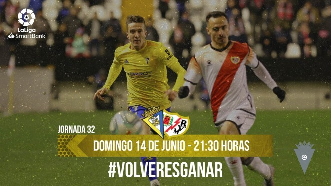 El Cádiz volverá a saltar al césped el 14 de junio contra el Rayo Vallecano
