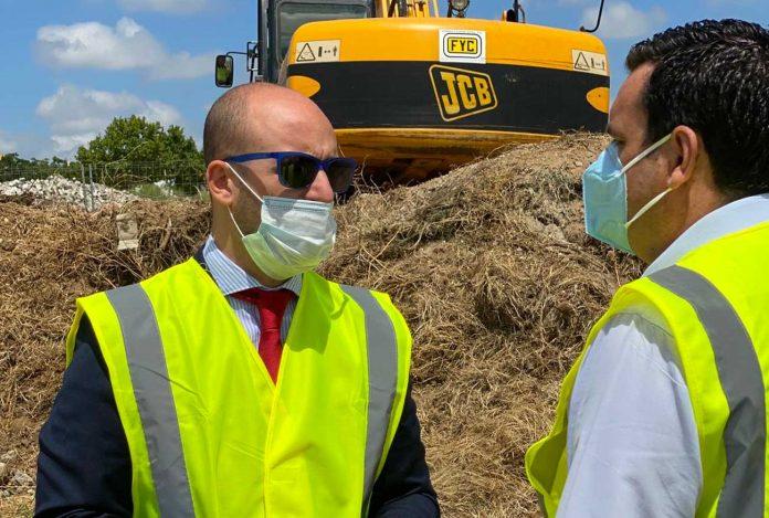 Inician las obras de urbanización del centro de salud de la zona norte de El Puerto