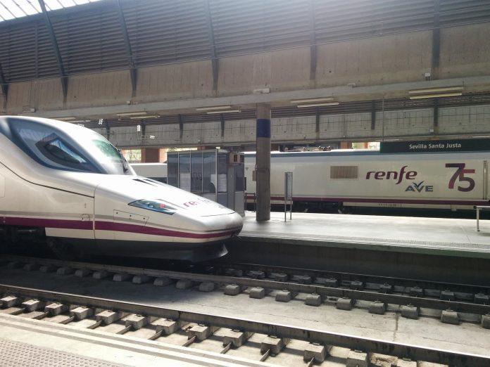 Renfe incrementa en 600 plazas el trayecto Madrid-Cádiz el fin de semana