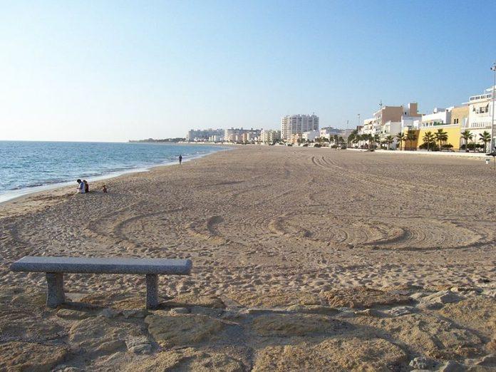 Playa de la costilla, Rota.