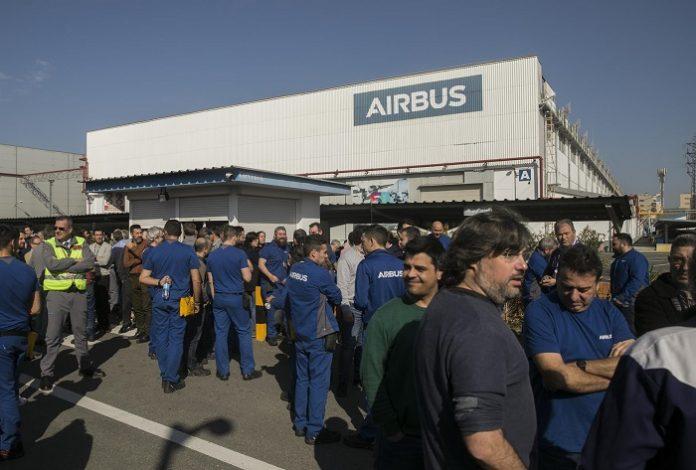 Airbus despide a 150 empleados en su factoría de Puerto Real