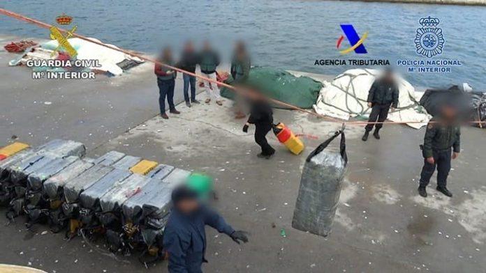 Balance del Plan del Campo de Gibraltar: dos años y 268,2 toneladas de droga incautadas