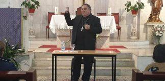 Obispo de la Diócesis de Asidonia-Jerez, José Mazuelos.