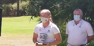 María Torres, subcampeona de Andalucía cadete sub16 de golf