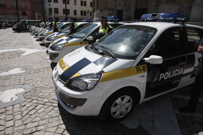 Coche de la Policía Local de Cádiz.