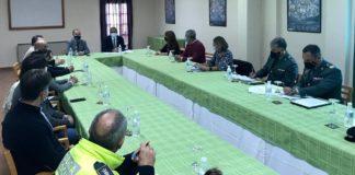 Reunión entre Subdelegación y ayuntamientos de la Sierra de cara al puente de noviembre.