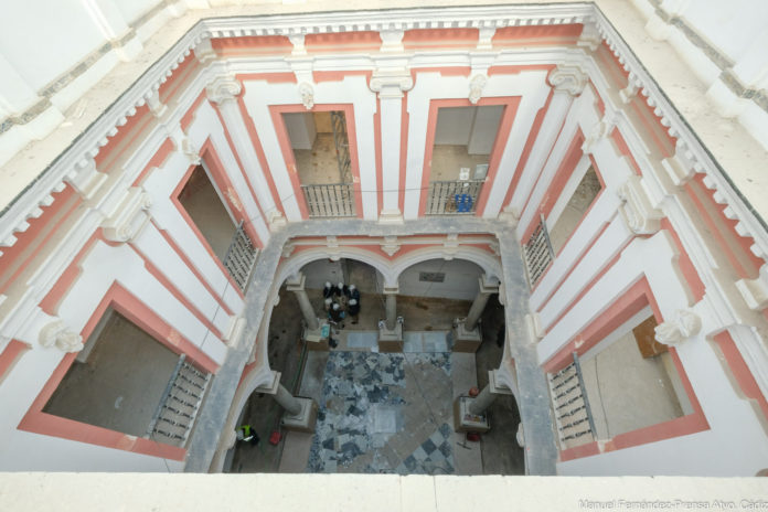 Avanzan a buen ritmo las obras del Museo del Carnaval de Cádiz