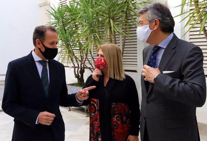 Diputación aportará 40.000 euros para tecnologías de la información en viñedos ecológico del Marco de Jerez.