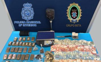 Detenida una familia que utilizaba su domicilio como venta de droga en Jerez de la Frontera