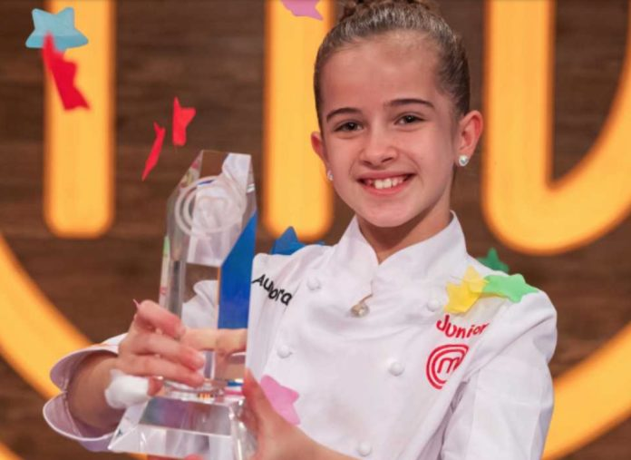 La gaditana Aurora, ganadora de Masterchef Junior 8