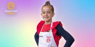 La gaditana Aurora, finalista de Masterchef Junior 8