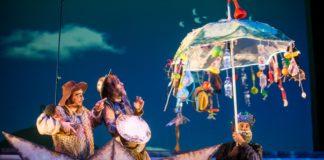El equipo de Teatring representando a Don Quijote.