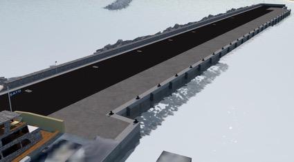 El Puerto de Algeciras prolongará el Muelle de Armamento de El Saladillo