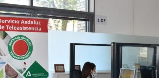 Teleasistencia gestiona más de 6 millones de llamadas en 2020 en Andalucía.