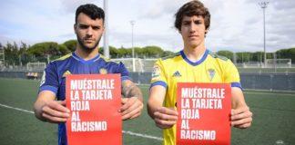 El Cádiz CF saca la roja al racismo