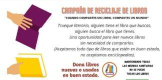 Los Barrios organiza una campaña para el reciclaje e intercambio de libros nuevos y usados