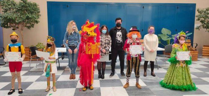 Cádiz entrega los premios del concurso online infantil de disfraces de Carnaval