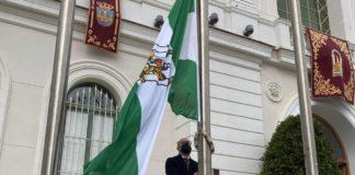 """El Puerto de Santa María celebra el Día de Andalucía con la convicción de que """"se resurgirá de esta pandemia"""""""