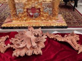 Se presentan las primeras piezas del nuevo paso del Nazareno de Santa María, que se exhibirán en 'Una historia de fe'