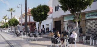 Los negocios de hostelería de San Fernando no tendrán que abonar las tasa de las terrazas durante todo el año