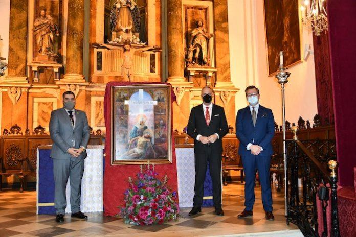 Presentado el Cartel de Semana Santa 2021 de San Roque, con Las Angustias de protagonista