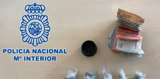 Detenido en La Línea cuando transportaba 50 papelinas de cocaína para su distribución en puntos de venta