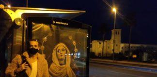Recorrido procesional en imágenes, utilizando los mupis como soporte, en tributo a la Semana Santa portuense