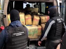 Detenidas 60 personas en Huelva, Sevilla y Cádiz en una macrooperación contra el tráfico de drogas