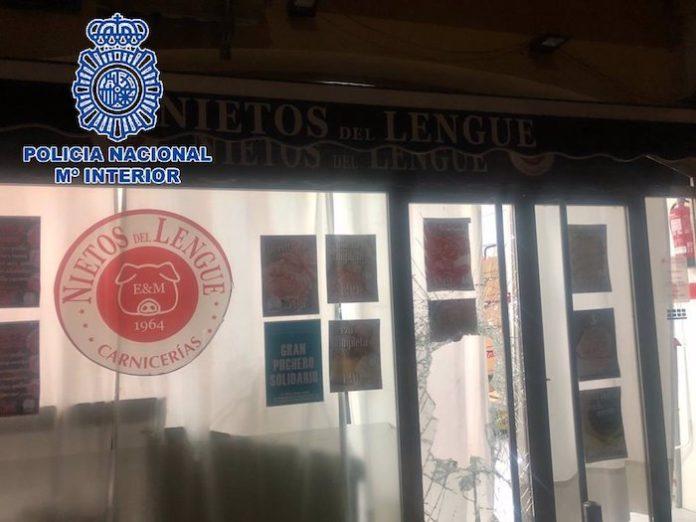 Un detenido en El Puerto por robar cinco jamones de una carnicería