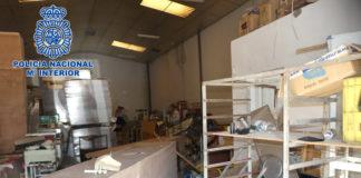 Detenidos los presuntos autores del robo de material de hostelería en Jerez