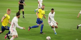 Cádiz CF: Lucha sin éxito ni fortuna ante el Madrid (0-3)