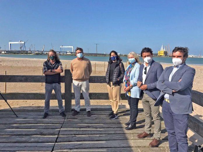 Comienza la campaña para preservar zonas de cría de charrancitos y chorlitejos patinegros en El Puerto
