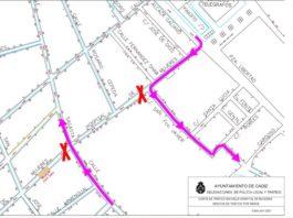 El tráfico de la calle Hospital de Mujeres se cortará en un tramo a partir del lunes