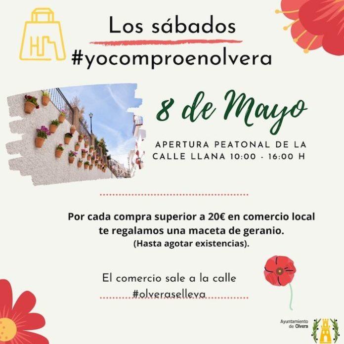Olvera pone en marcha la campaña los sábados #yocomproenolvera