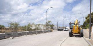San Fernando comienza la obra de la carretera de la Batería de La Ardila