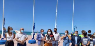 En Cádiz, han sido 35 las Banderas Azules obtenidas esta temporada, 30 para playas y cinco para puertos deportivos