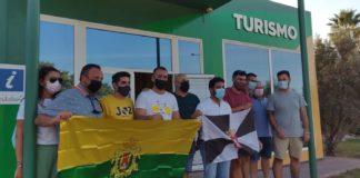 Miembros del Centro de Buceo 'Burbujas' de Ceuta visitan Los Barrios