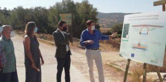 Informa sobre la rehabilitación del puente del Realejo en Ubrique