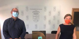 Tarifa inicia nuevos equipos informáticos a pequeños ayuntamientos